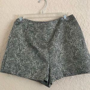 F21 Textured Mini Shorts